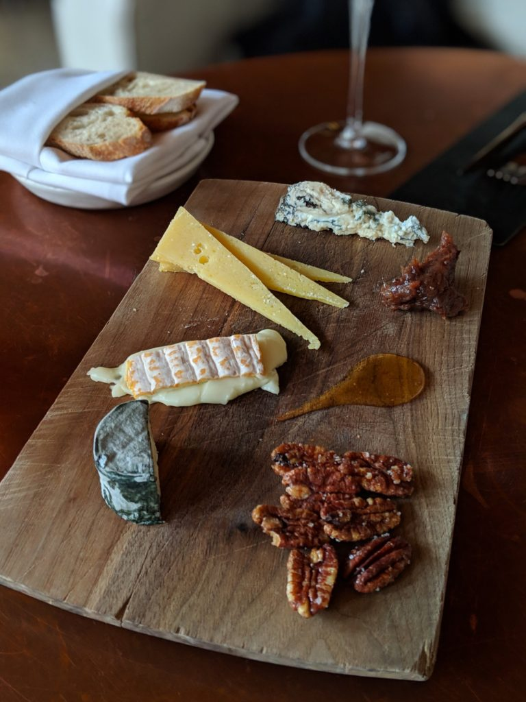 Cheese plate from Gabriel Kreuther