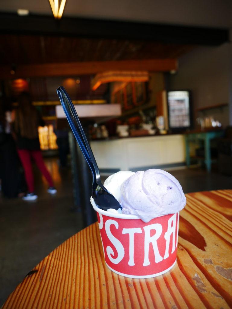 Two Scoop Cup Salt & Straw Portland Oregon