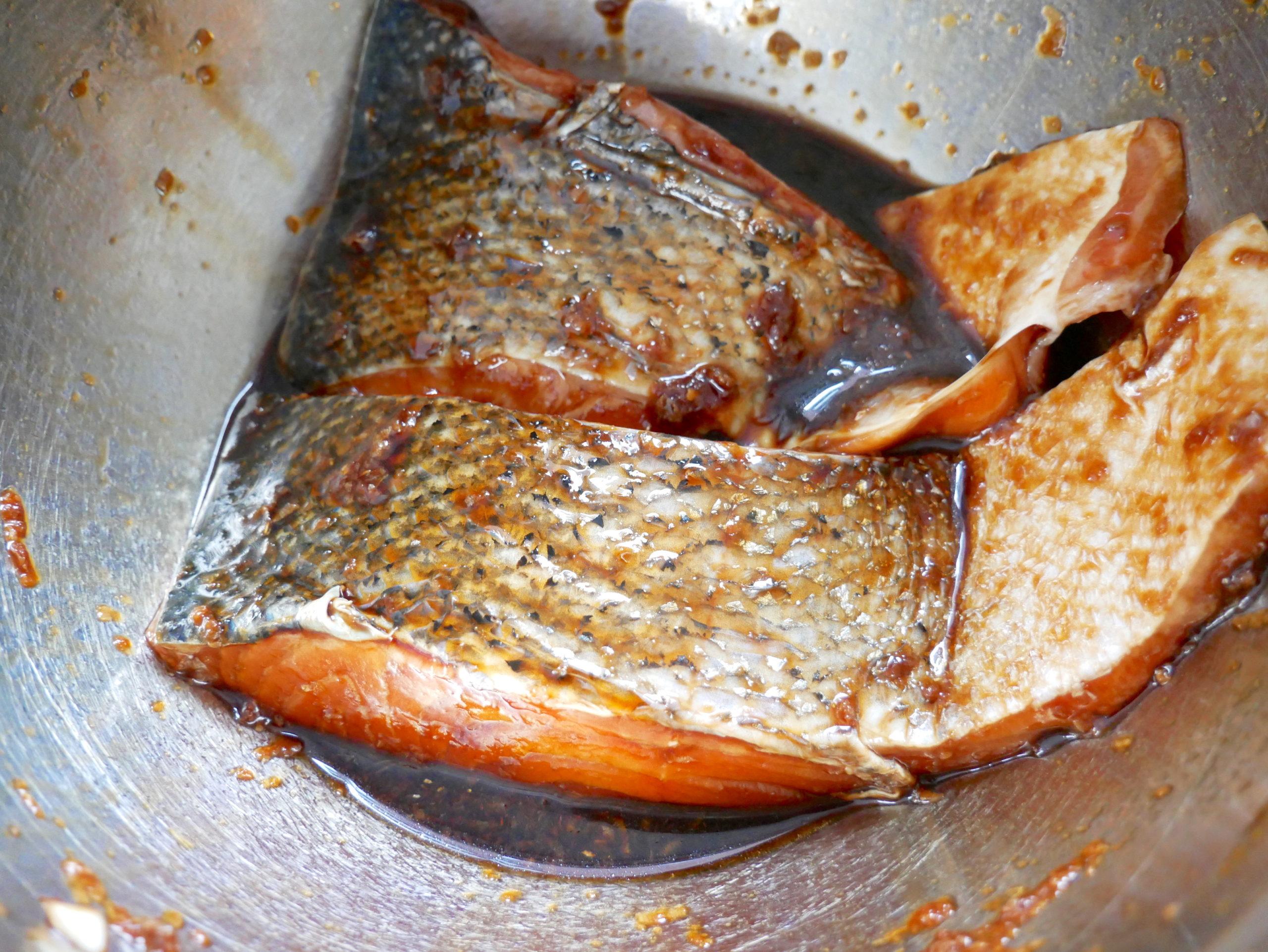 salmon soy marinade