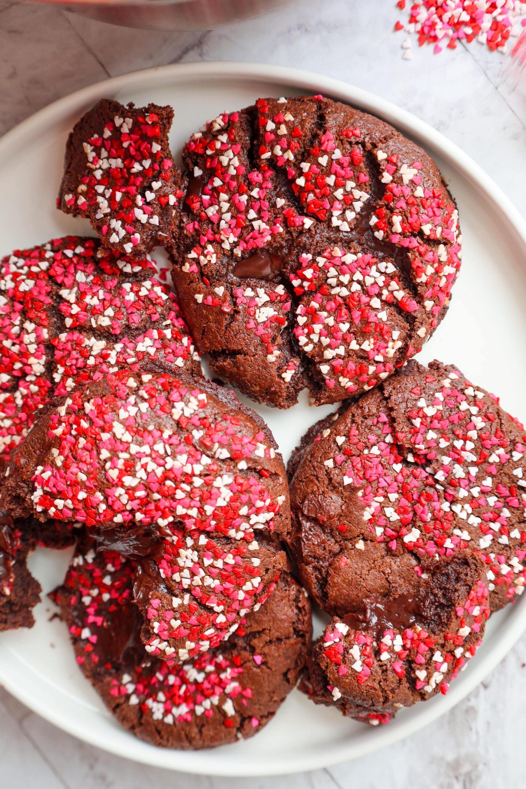 chocolate molten cookies